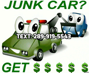 ⭐️Top Ca$h for Scrap Cars!️ Text now✅