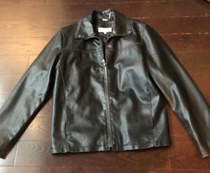 Leather Jacket  - Calvin Klein