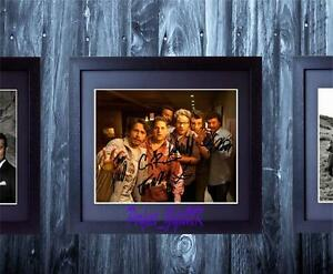 This-Is-The-End-Cast-SIGNED-AUTOGRAPHED-FRAMED-10x8-REPRO-PHOTO-PRINT-Rogan-Hill