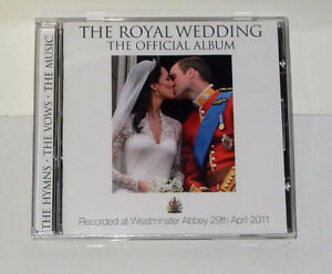 The royal Wedding, The Official Album (Music CD)