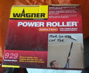 Wagner power roller - paint with ease
