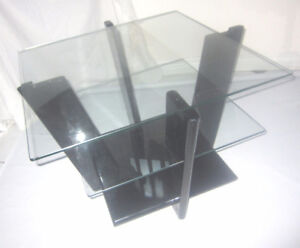 Art Deco Lacquered 3 Tier Coffee Table