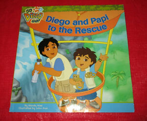 "Diego book ""Diego & Papi to the Rescue"""