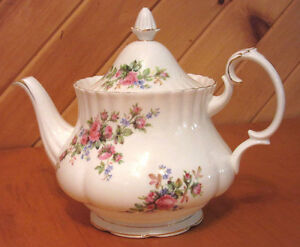 Royal Albert 'Moss Rose' teapot