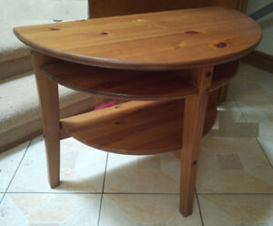 Side Table - IKA, Lindhult, Contemporary, Brown Stained Pine