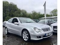2006 06 MERCEDES-BENZ C CLASS 1.8 C180 KOMPRESSOR SE SPORTS AUTO 141 BHP**PANROO