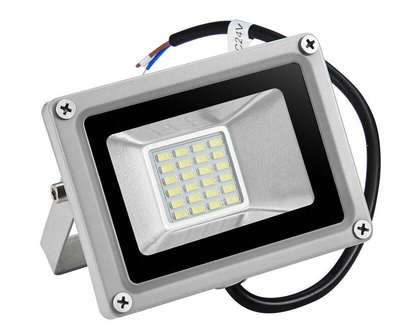 4X 20W LED Flood Light Cool White Outdoor Garden Yard Spot L
