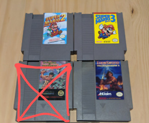 NES & N64 games for sale