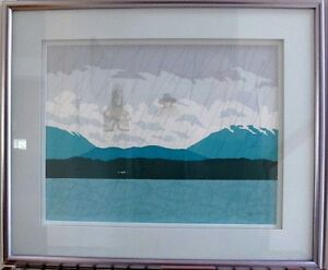 Carmanah - Numbered Print by Roy Henry Vickers - Framed