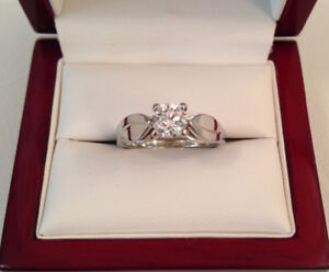 SAVE $1,937 0.51ct, SI2, I, 19k WG Excellent Condition!!