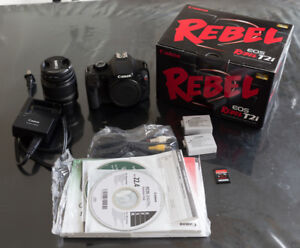 Canon EOS Rebel T2i - Avec 18-55mm + 2 batteries