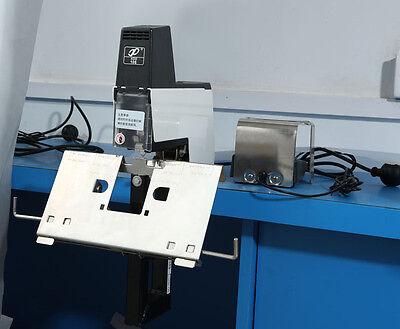 110v Electric Auto Stapler Flat And Saddle Binder Machine Book Binding Machine