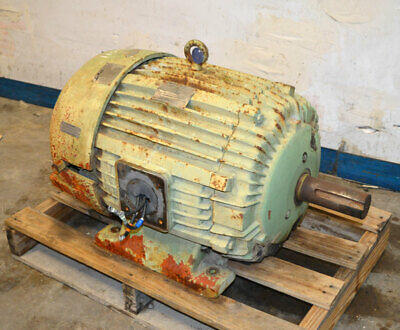 Us Electric 50-hp 3-ph 60-amp Motor Corro-duty 365t Te Special Feature-rh-4835