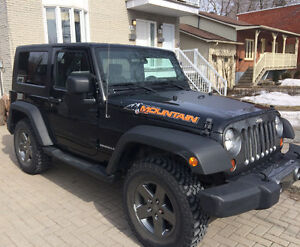 2010 Jeep Wrangler Mountain edition