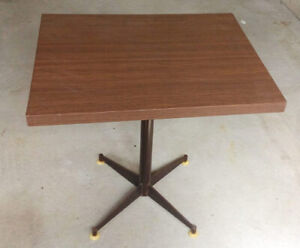 Cafe style dining set - table and 2 chairs