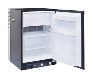 UNIQUE 3 CU/FT PROPANE FRIDGE