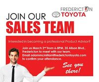 Join our Sales Team