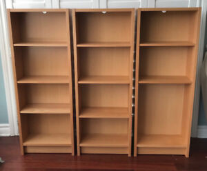 IKEA discontinued CD / DVD / book shelves (x3)