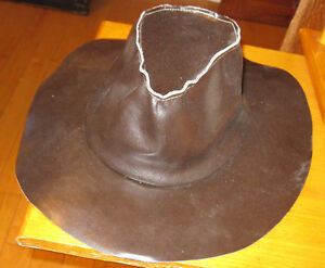 BRAND NEW LEATHER COWBOY HAT