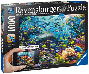 RAVENSBURGER PUZZLE 1000 PCS ORIGINAL COMME NEUF TAXES INCLUSES