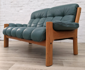 Ekornes Stressless Sofa With Armchair (DELIVERY AVAILABLE)