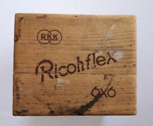 Photography VINTAGE Ricohflex Model VI Camera Box Only