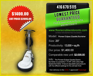 Pioneer Eclipse Electric Burnisher - PRICED RIGHT!