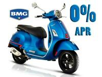 Vespa GTS 125 and GTS 300 with 0% Finance In Stock Now!