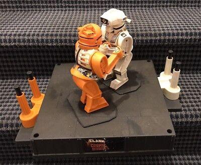 Vtg 1966 Marx Clash Of The Cosmic Robots Rockem Sockem Game Toy Works Rare