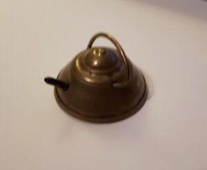 Vintage Minature Brass Kettle