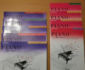 PIANO ADVENTURES SERIES - PRIMER LEVEL AND LEVEL 1
