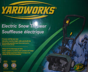 Souffleuse électrique /Snowblower Snow blower