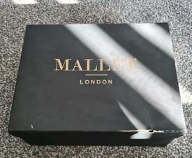 Black Mallet Elastic Croc pattern trainers