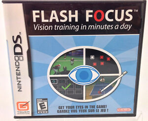 Nintendo DS - FLASH FOCUS by Nintendo or lot of 11 games
