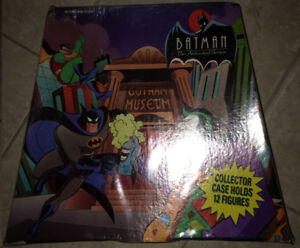 batman the animated series collectors case with figures