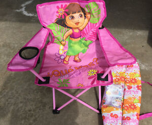 Dora Kids Camping Chair with carry bag