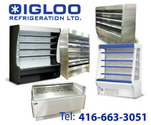 Open Merchandiser, Sandwich Stand, Grab and Go, Pastry Cases