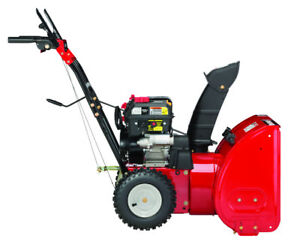 "MURRAY 24"" Two-Stage Snow Blower - Electric Start"