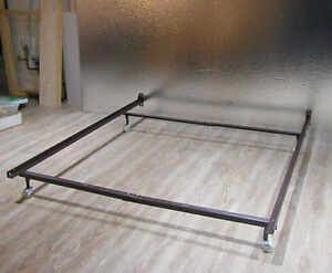 Adjustable Bedframe for Single, Double or Queen on Wheels