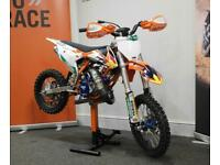 NEW 2021 KTM 50 SX Big wheel factory race rep - Absolutely massive spec!