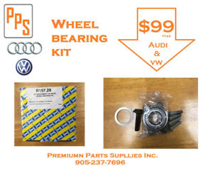 Audi/Volkswagen 2002-2009 Wheel Bearing Kit