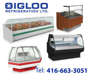 Deli cases, Meat cases, Fish cases, Butcher cases, Cheese cases