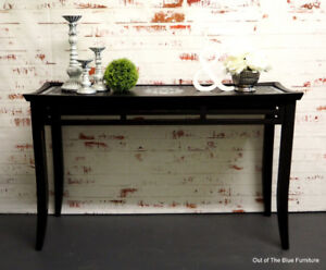 Oriental inspired hall/console/entry table