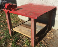 Welding Bench and Vice
