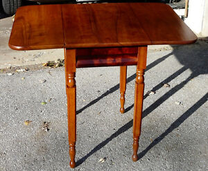 Antique Cherry Drop-leaf Table Kingston Kingston Area image 3