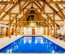 Single new lodge for sale, with 99 year lease on a 12 month season park