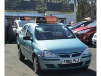 2005 Vauxhall Corsa 1.2i 16V Life [80] 5dr HATCHBACK Petrol Manual