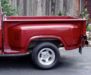 Ford Stepside/Flareside Short Box