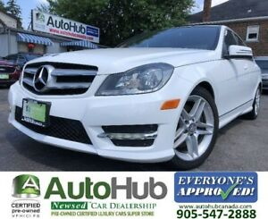 2014 Mercedes-Benz C-Class C300-4MATIC-SUNROOF-LEATHER-BLUETOOTH