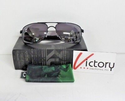 NEW Oakley SI Gauge Polarized Prizm Sunglasses | 004124-0862 | Black Frame/Lens